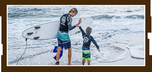 private surf lessons and parties link